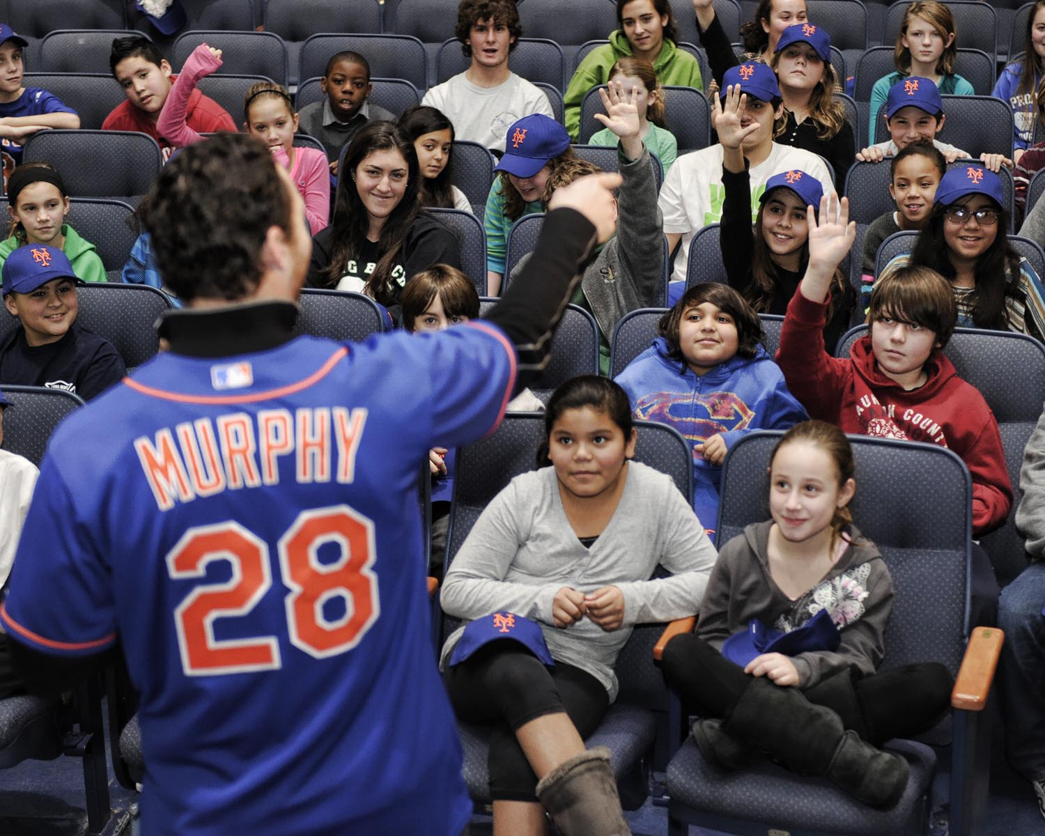 Question & Answer With Daniel Murphy of the NY Mets