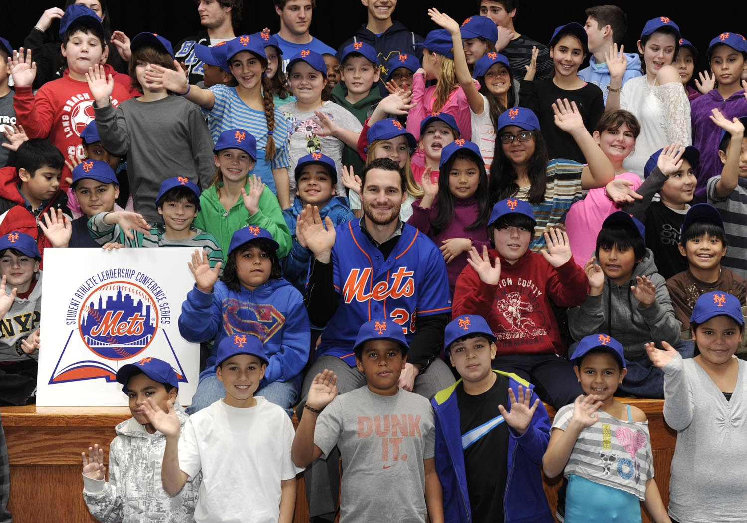 NY Met Daniel Murphy on a Visitation