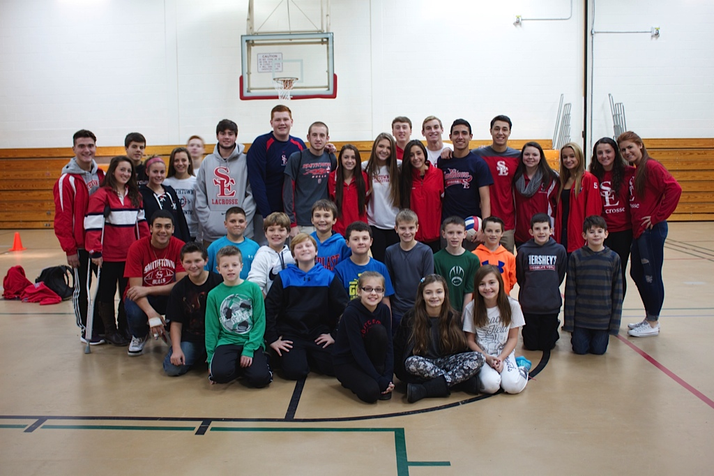 Smithtown East Student Athletes and Kids