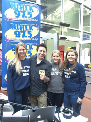Smithtown West Visits WALK 97.5 FM
