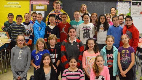 Connetquot HS Student Athletes and Bosti Elementary