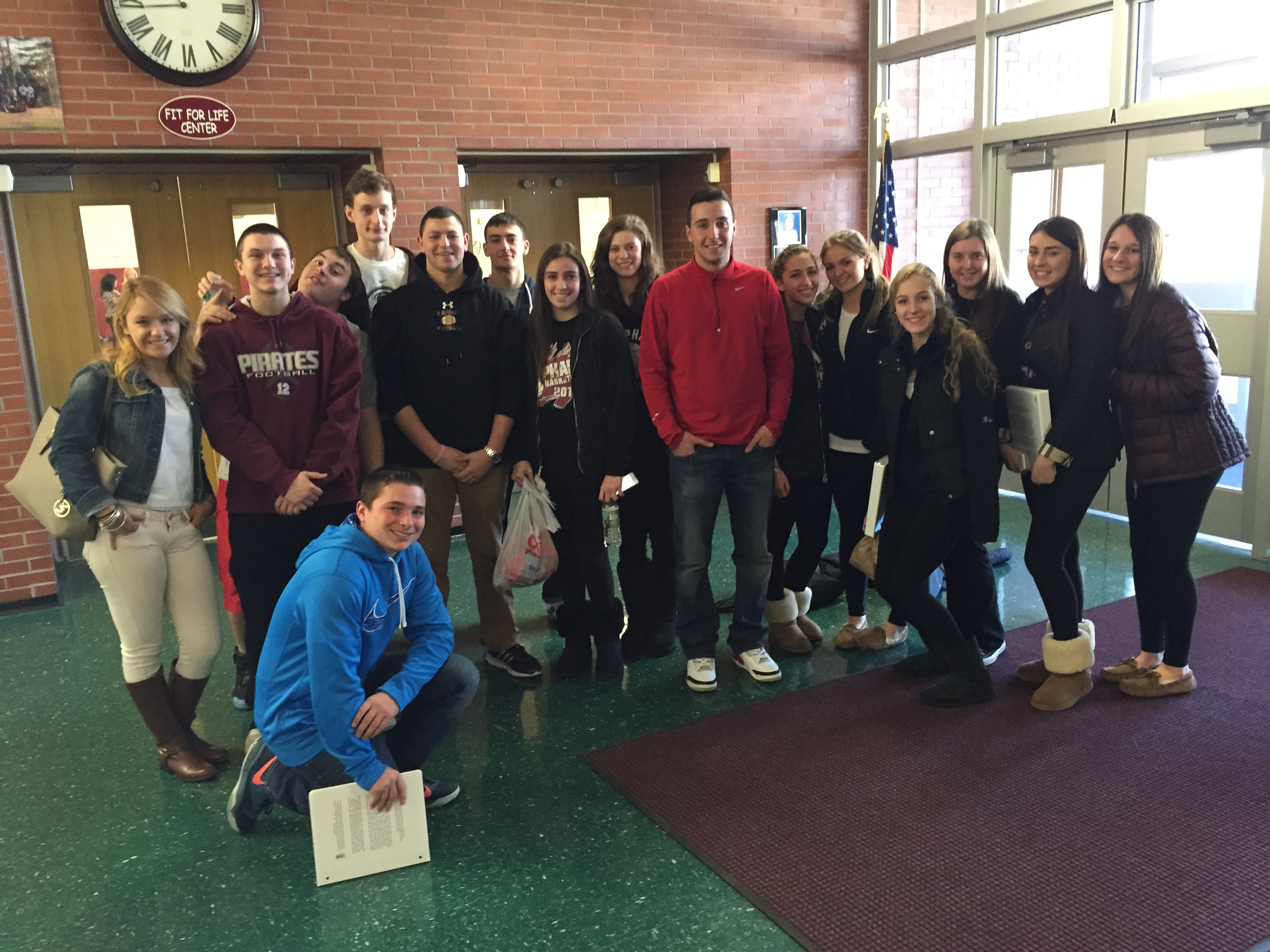 Mepham High School Student Athlete Leadership Team
