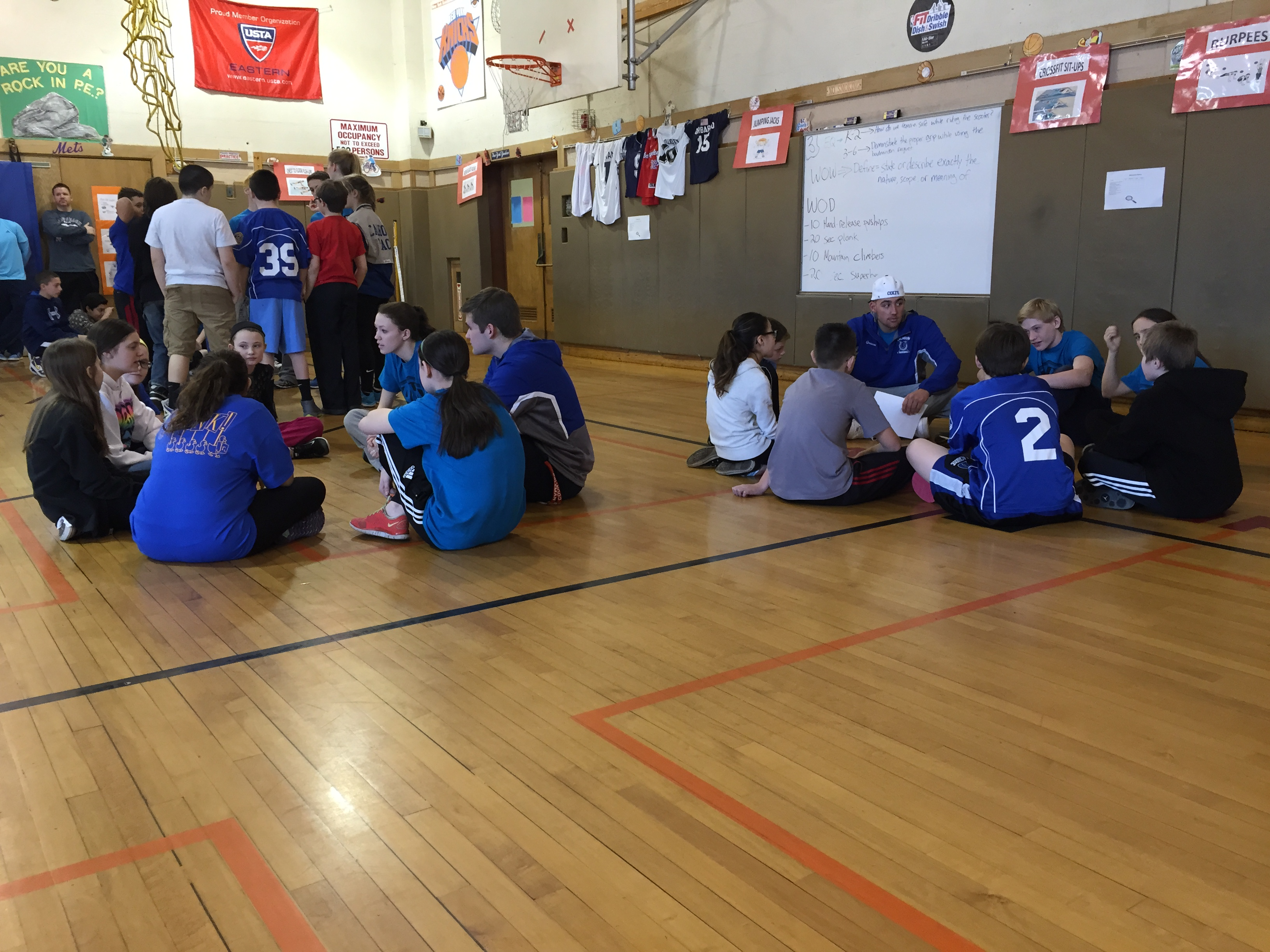 Student Athlete Leaders and Students Solving Scenarios