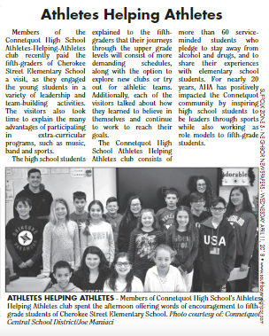 AHA In the News - Connetquot HS